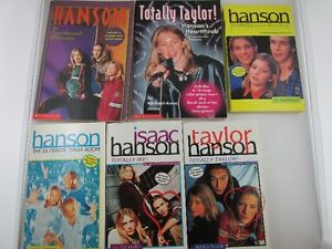 6 Hanson Books MMMBOP to the Top & 5 More