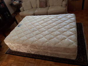 Simmons BackCare Queen Mattress and Boxspring