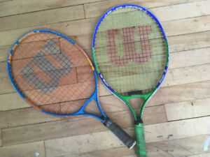 Youth Tennis Racquets x2