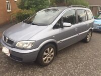 Vauxhall Zafira Breeze 1.6 2005 7 seater