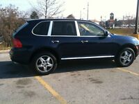 2005 Porsche Cayenne S with PSM and Air  Sport Suspension, NAV