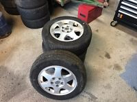 Vauxhall Zafira Wheels And Tyres (195/65/15)