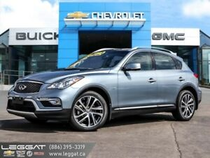 2016 INFINITI QX50 Base  - One owner - Leather Seats