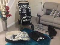 Push chair / travel system + car seat