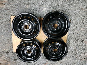 Steel wheels 14""