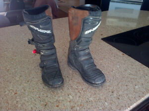 Motocross Boots Size 9 Mens