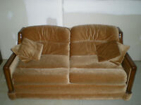 VINTAGE Loveseat and Couch matching set