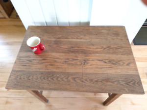 Solid oak Mission table or desk