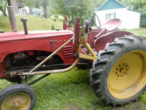 Tires & rims for Massey Harris 22 Tractor