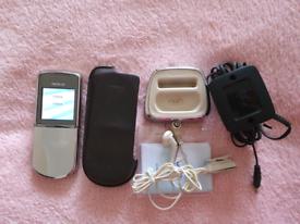Nokia Sirocco 8800d, Silver