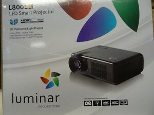 4K Home Theater Projector with Screen