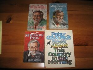 BOOKS - PETER GZOWSKI - LOT OF 4 - REDUCED!!!!