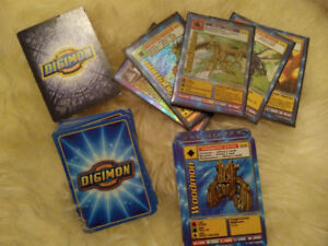 47 Digimon Cards