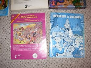 Dungeons and Dragons Basic & Expert Set Sarnia Sarnia Area image 2