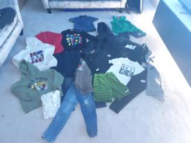 Boys clothing bundle age 9-10 zara , nike