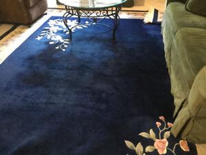 Huge Wool Rug 12 ft x 9 ft