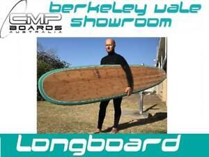 Longboard 9 Foot Bamboo Performance Board CMP BOARDS WAREHOUSE