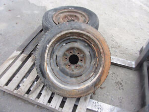 For Sale: 3 Rims 55 to 59 Chev truck 6 bolt