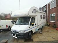 Ace Genova 4 Berth 3 Travel Seats Rear Lounge Motorhome Camper Van For Sale