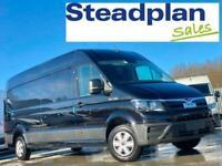 2021 BRAND NEW MAN TGE LONG WHEELBASE VAN BLACK 140 PS GREAT SPEC VW CRAFTER