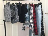Bundle of teen girls clothes size uk 6/8