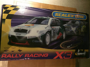 Scalextric X3 racing set