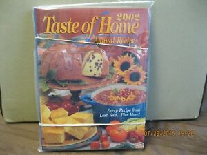 TASTE OF HOME    ANNUAL RECIPES    YEAR    2002