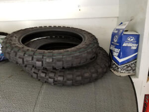 Yamaha PW 50 Tires and Tubes (NEW)