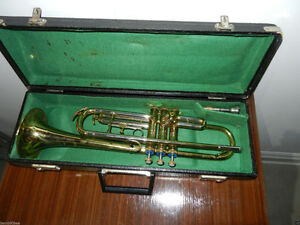 Vintage BUFON trumpet with case