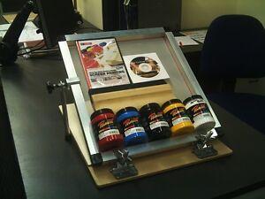 Screen Printing  Micro Hinge Clamp Starter Kits A4
