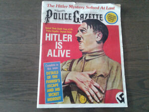 Police Gazette January 1977 issue