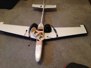 RC plane an accesories