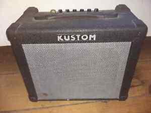 Kustom 30w electric guitar amp with reverb 100o.b.o.