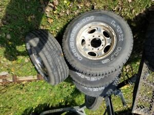 superduty 16 inch rims and tires