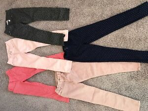 Girls pants lot