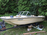 15' Tempest Fishing Boat, hull only, trade for ???