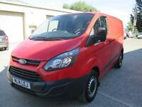 2014 Ford Transit Custom 2.2TDCi 125PS 2013.5MY 330 L2H1 1 owner pas sld 6speed