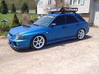 2003 Subaru Impreza with sti mods