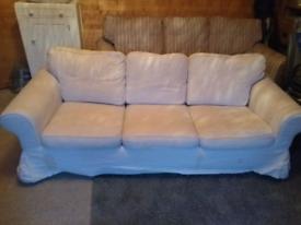 Free: IKEA 3 Seater Extorp Sofa