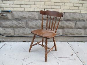 Wooden Dining Set with 6 Chairs For Sale London Ontario image 2