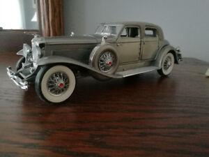 Franklin Mint 1933 Duesenberg SJ Twenty Grand 1:24 Diecast