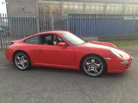 Porsche 911 3.8 auto 2007 Carrera S Tiptronic S GUARDS RED