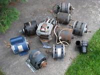 Lots de 10 moteurs