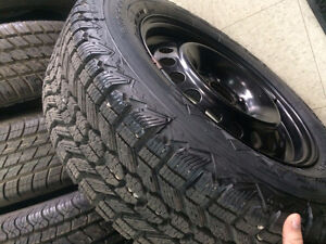 BRAND NEW WINTER TIRES ON RIMS WITH TPMS SENSORS Regina Regina Area image 2