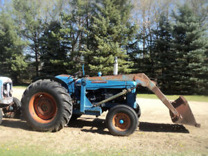 1962 Fordson Supermajor Tractor and Parts Tractor