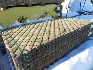 Treillis bois traité 4pi x 8pi intimité