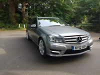BUY ME FOR £225.14 PER MONTH 2012 MERCEDES-BENZ C220 2.1CDI BlueF 7G-Tronic