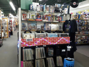 CLEARANCE SALE!!! 50% OFF VINYL AND CASSETTES!!!