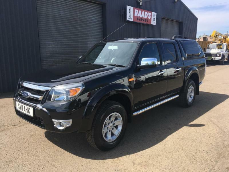 *SOLD* Ford Ranger 2.5 TDCi XLT Double Cab 4x4 Pickup Diesel * One Owner *