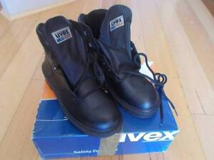 BRAND NEW IN BOX MENS UVEX LEATHER SAFETY BOOTS SIZE 8 Ocean Reef Joondalup Area Preview